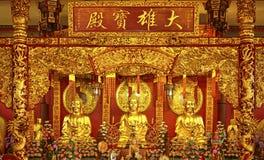 Buda chinesa do templo Imagem de Stock Royalty Free