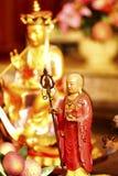 Buda chinesa do templo Fotografia de Stock