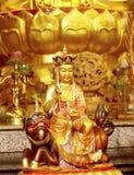 Buda chinesa do templo Foto de Stock Royalty Free