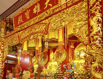 Buda chinesa do templo Fotografia de Stock Royalty Free