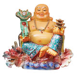 Buda chinesa isolada Foto de Stock