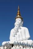 Buda com luz do sol bonita na cara no wat Phasornkaew, Phetc Fotografia de Stock Royalty Free