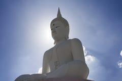Buda con el cielo y el clould Foto de archivo