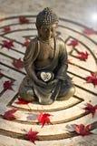 Buda con la muestra de OM Imagen de archivo libre de regalías