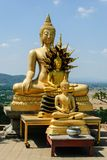 Buda da imagem em Tailândia Imagens de Stock