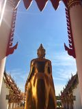 Buda de la dedicación budista foto de archivo libre de regalías