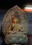 Buda de madera, Kyoto, Japón foto de archivo libre de regalías