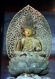Buda de madera, Kyoto, Japón imágenes de archivo libres de regalías
