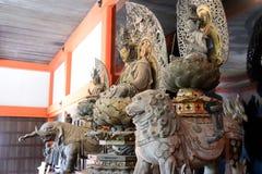 Buda de madera, Kyoto, Japón fotografía de archivo libre de regalías
