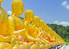Buda de oro Foto de archivo
