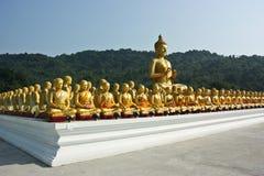 Buda de oro. Foto de archivo libre de regalías