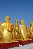 Buda de oro. Fotografía de archivo