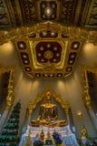 Buda de oro, Bangkok, Tailandia Fotografía de archivo