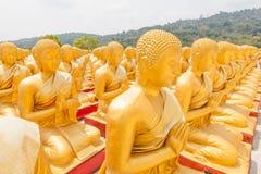 Buda de oro en el parque conmemorativo de Buda Fotos de archivo libres de regalías