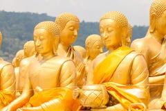 Buda de oro en el parque conmemorativo de Buda Imágenes de archivo libres de regalías