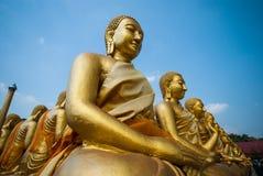Buda de oro en el parque conmemorativo de Buda Foto de archivo
