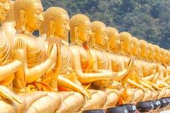 Buda de oro en el parque conmemorativo de Buda Fotografía de archivo