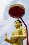 Buda de oro en Tailandia Fotos de archivo libres de regalías