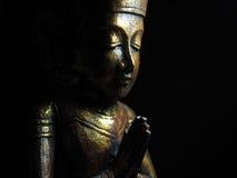 Buda de oro oscuro número 2 Fotografía de archivo libre de regalías
