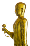 Buda de oro que da loto Imagenes de archivo