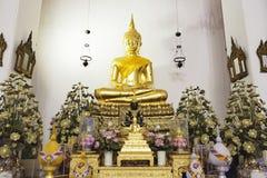 Buda de oro, Wat Pho, Bangkok, Tailandia Fotografía de archivo