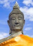 Buda de pedra da estátua Fotografia de Stock