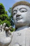 Buda de piedra en Chin Swee Caves Temple, montañas de Genting Imágenes de archivo libres de regalías