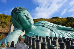 Buda de reclinação Fotos de Stock Royalty Free