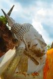 Buda de reclinação de Ayutthaya Fotos de Stock