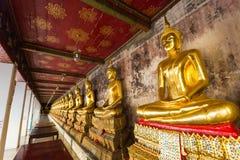 Buda de Wat Suthat Thepwararam Imagen de archivo libre de regalías