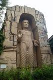 Buda do museu de Puszczykowo Arkady Fiedler da cópia de Bamiyan da tolerância foto de stock royalty free