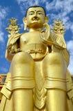 Buda dourada fotografia de stock royalty free