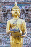 Buda dourada imagem de stock royalty free