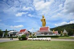 Buda dourada em Songkhla, Tailândia Fotografia de Stock Royalty Free