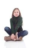 buda dziewczyny pozycja siedział potomstwa Zdjęcie Stock