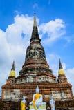 Buda e os apóstolos fotos de stock