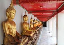 Buda em Banguecoque, Wat Pho Fotos de Stock