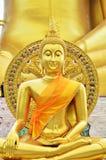 Buda em um templo tailandês Imagem de Stock Royalty Free