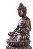 Buda em uma pose de um mudra do varada Imagem de Stock