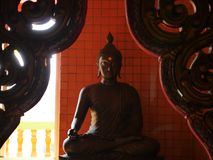 A Buda em Wat Thamsua Foto de Stock Royalty Free