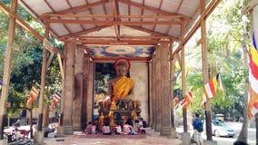 Buda en Angkor Wat Fotografía de archivo libre de regalías