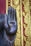 Buda en el templo Laos Fotos de archivo