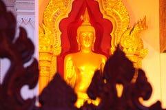 Buda en la pagoda grande Nakornpathom Fotos de archivo