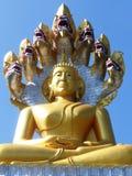 Buda en la tonelada/Tailandia de Tha Foto de archivo libre de regalías