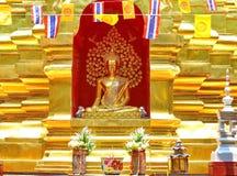 Buda en pagoda Imagenes de archivo