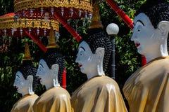 Buda en templo en Wat Vivekvanaram, Chiang Mai, Tailandia Fotografía de archivo libre de regalías