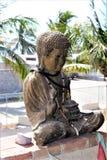 Buda en ventana Foto de archivo libre de regalías