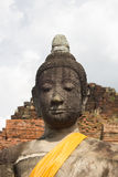 Buda en Wat Mahathat Fotos de archivo libres de regalías