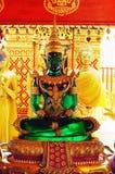 Buda esmeralda de assento Fotos de Stock Royalty Free