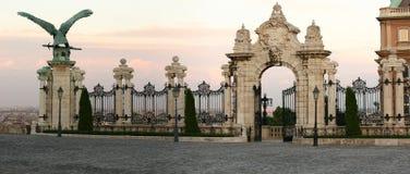 Buda-gate Stock Photo